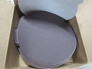 150-new-NORTON-Cora-5-A-O-Resin-Cloth-Stick-On-Abrasive-Sanding-Discs-180-Grit