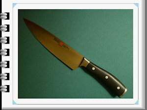 Wusthof classic ikon cook's knife new PEtec  # 4596/20cm 8
