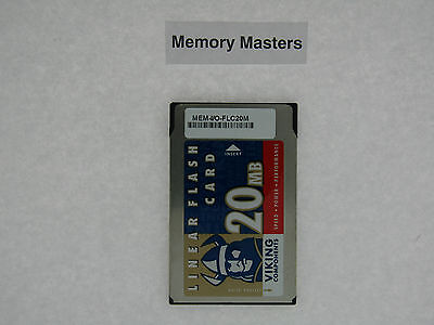 Mem-i/o-flc20m 20mb Approved Flash Card For Cisco 7200