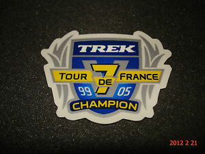 1-TREK-TOUR-DE-FRANCE-ROAD-RACING-X7-CHAMPIONS-STICKER-DECAL-AUFKLEBER