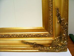 PICTURE-FRAME-ORNATE-ANTIQUE-GOLD-20x24-20-x-24-700G