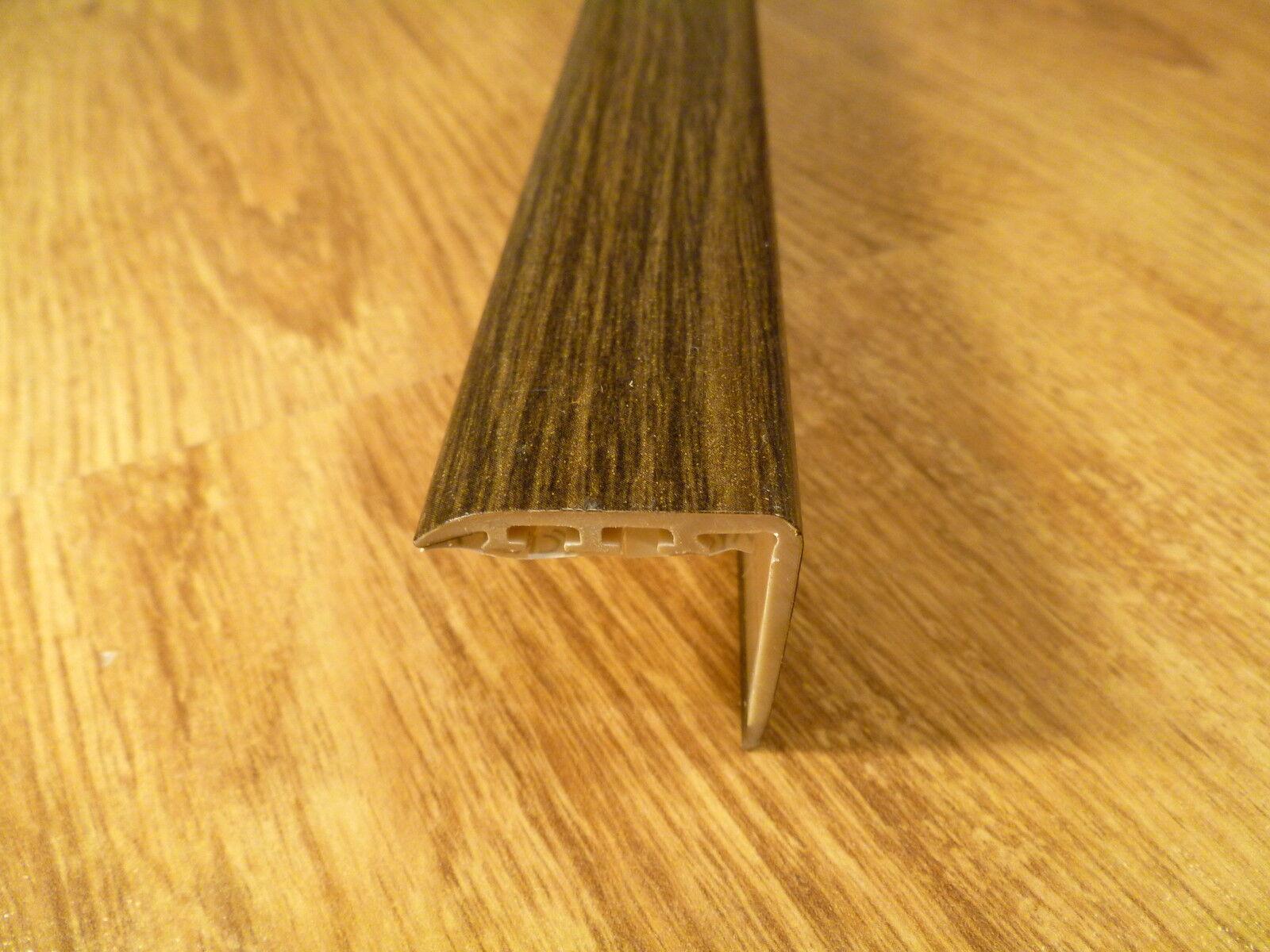 Upvc Wood Effect Stair Edge Nosing Trim Edging Nosing 25