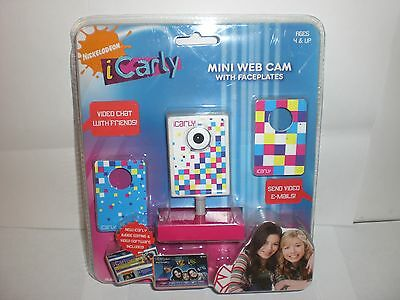 Nickelodeon Icarly Mini Web Cam With Faceplates