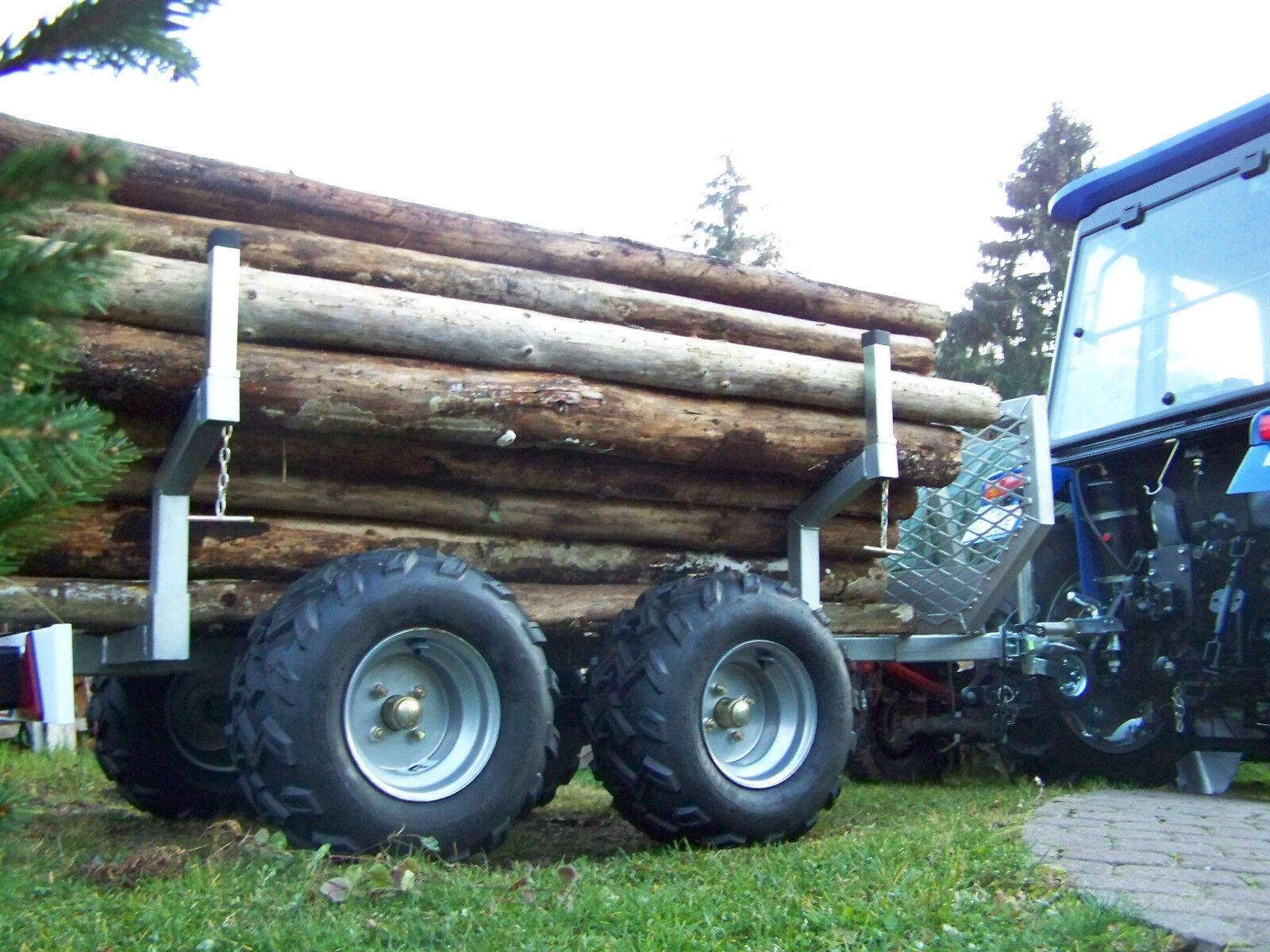 neu forst anh nger lh1200 pritsche ohne kran holz r cke wagen traktor atv eur. Black Bedroom Furniture Sets. Home Design Ideas