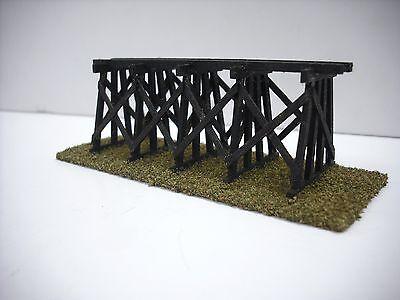 N Scale Custom Laser Cut Trestle Bridge Kit