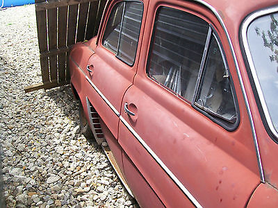 RENAULT DAUPHINE   DOORS, GLASS,REAR WINDOW,MANY OTHER PARTS,Visit our website