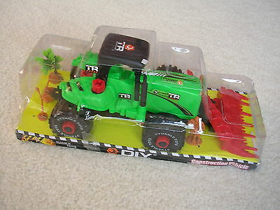 Diy Farm Tractor With Tools,little People,wheelbarrow,treenewboys/girls Gift