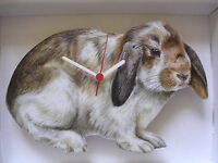 Loped Ear Rabbit Wall Clock. And Boxed. - unbranded/generic - ebay.co.uk