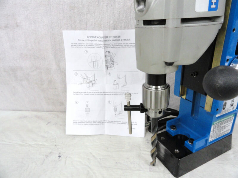 HOUGEN DRILL CHUCK&ADAPTER FOR MODEL