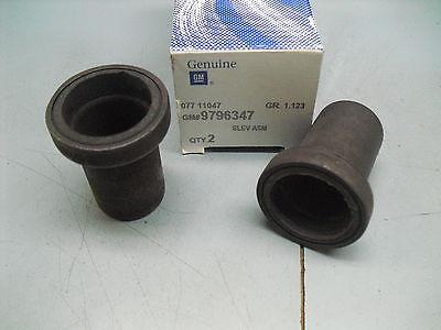 GM Water Pump Output Sleeve Seal All 1969 81 Pontiac 350 400 428 455 9796347 X 2