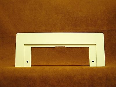 VacuSweep Trim plate for Central Vacuum ALMOND