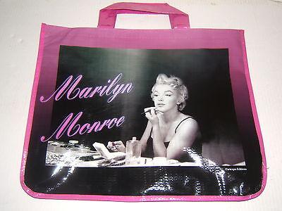 Marilyn Monroe Large Reusable Shopping Bag Tote New