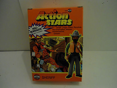 Airfix Action Stars Sheriff 70er Jahre