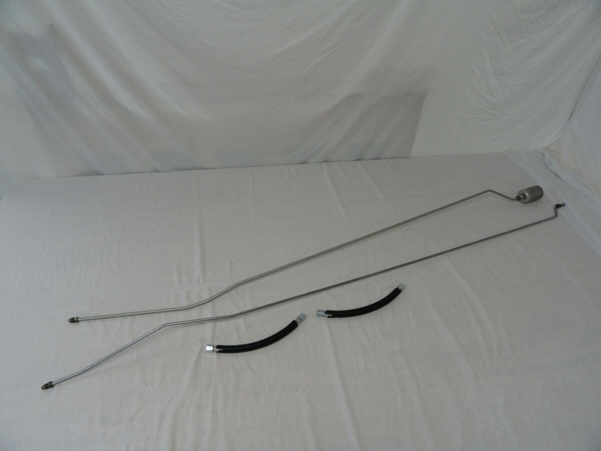 Chevy K1500 Pickup Truck Fuel Line Kit Rear Extended Cab 8ft Bed 4WD K2500 GMC