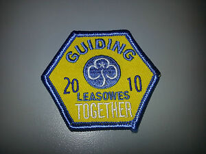 Girl Guiding UK Halesowen Leasowes District Centenary Badges