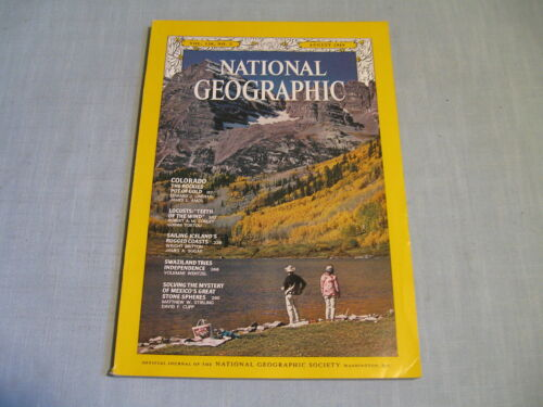 NATIONAL GEOGRAPHIC August 1969 COLORADO Locusts ICELAND Swaziland MEXICO