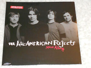 ALL - AMERICAN REJECTS  Move Along  LP SEALED COLORED VINYL gatefold