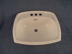 mobile home bathroom sink mobile home rv marine parts bathroom lav sink bone 19550