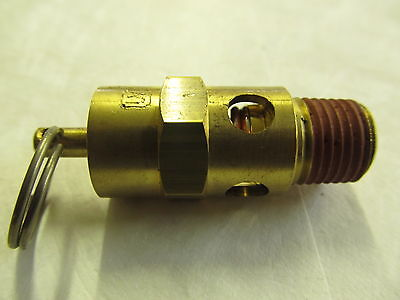 Air Compressor Safety Valve 1/4 X 150 Psi