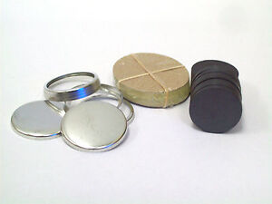 1-1-Inch-COMPLETE-PERFECT-FIT-Ceramic-Magnet-Button-Parts-for-Button-Machines