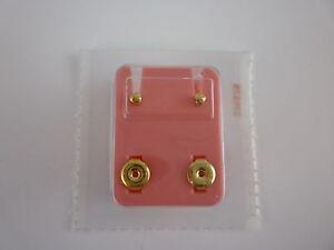 Studex Brand New Ear Piercing Studs 2mm  / 4mm / 6mm / Heart / Flower