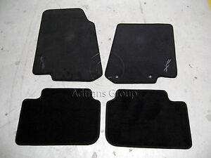 GENUINE FORD FG XR FALCON FLOOR MATS GRAPHITE XR LOGO