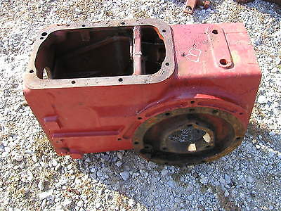 Farmall B Tractor Good Ih Rearend Transmission Case For Gears