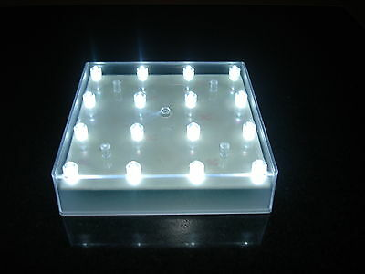 8 Led Light Bases With 16 White Lights Wedding Table Decorations Vase Up Light