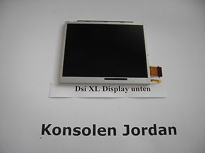 Nintendo Dsi Xl Display , Lcd Unten