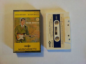 BUDDY-HOLLY-GOOD-ROCKIN-CASSETTE-TAPE-RARE