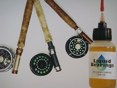 Liquid Bearings, Best 100%-synthetic Reel Oil For Cabela Or Any Reels, Read