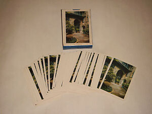 VINTAGE-ACE-BRULATOUR-COURTYARD-NEW-ORLEANS-LA-CHARIA-IMPORT-PLAYING-CARDS-JAPAN