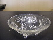 Clear Glass Candy Bowl