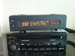 vauxhall-delco-CDR-500-car-radio-cd-player-astra-corsa-vectra-zafira