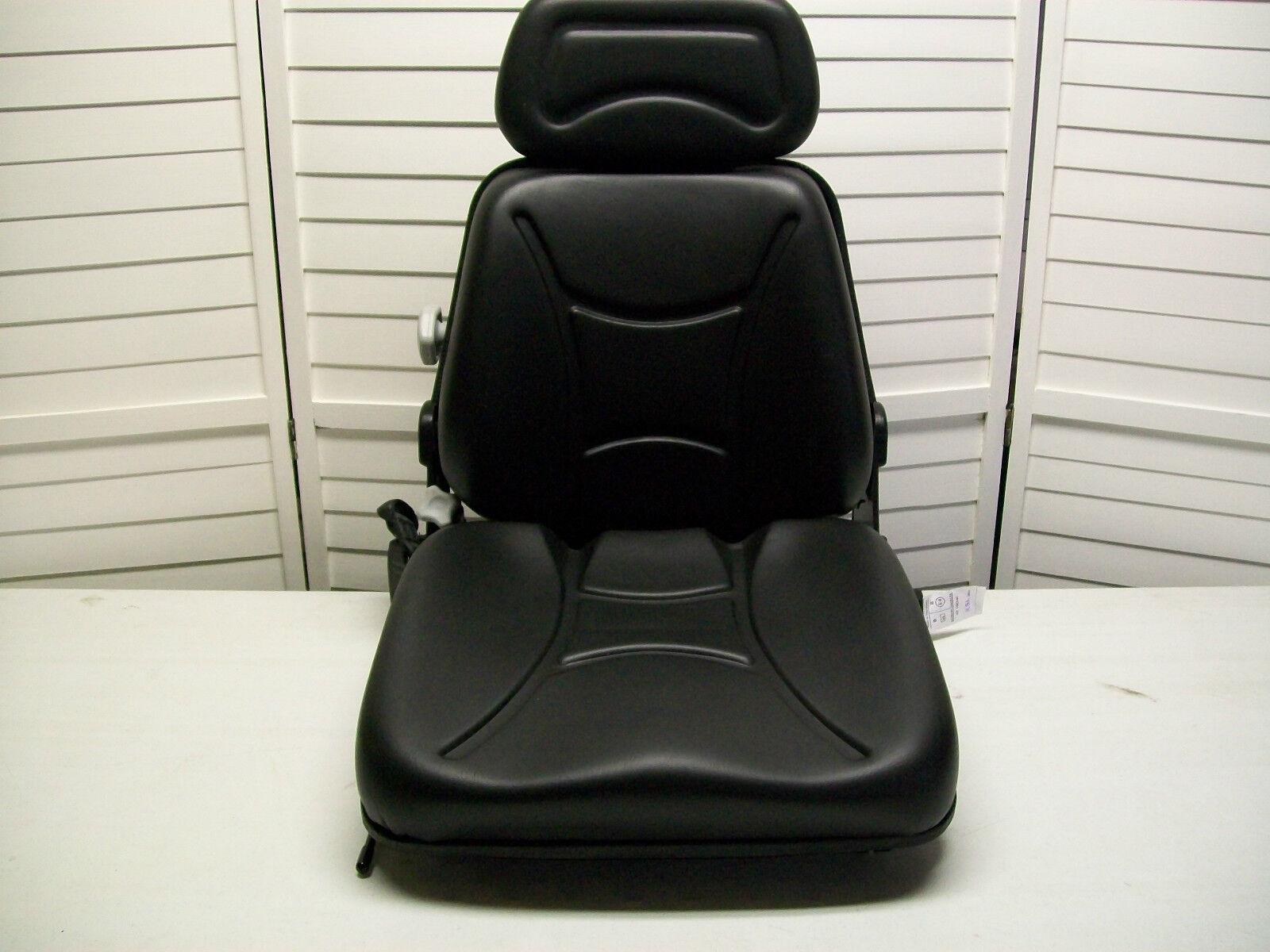 Suspension Seat,adjustable Back,excavator,forklift,skid Loader,telehandler Km