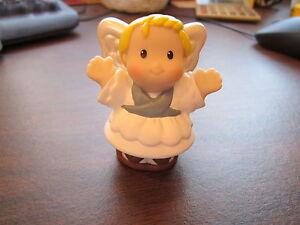 Fisher-Price-Little-People-Angel-Christmas-Nativity-Manger-Holiday-Inn-Shepherds