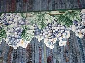 Grapes Wine Border