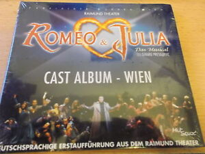 ROMEO & JULIA: DAS MUSICAL: CAST ALBUM: WIEN: CD: NEU!