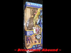 Halo-Flood-Pod-Elite-Combat-Form-by-Mega-Bloks-96929-w-Mini-Figure-Armory-Build