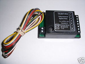 Vauxhall-Towbar-Towing-Smart-7-Way-Bypass-Relay-For-Cambus-Multiplex-Wiring