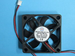 1-pcs-Brushless-DC-Cooling-Blades-Fan-12V-6015S-60x60x15mm-2-Pin-Sleeve-bearing