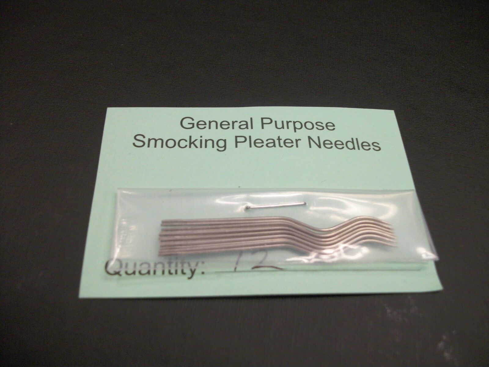 General Purpose Smocking Pleater Needles Boutique Pkg Of 12