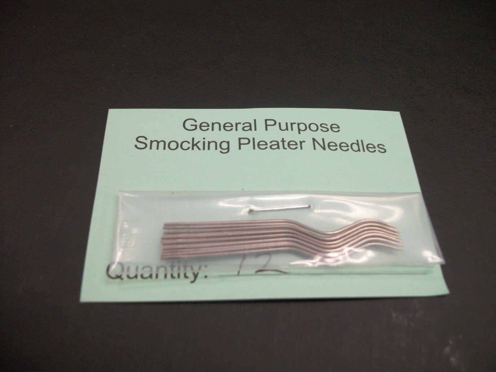 General Purpose Smocking Pleater Needles Boutique Pkg Of 12
