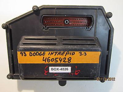 1993 DODGE INTREPID 3.3L ECU/ECM #4605428 *see item description*