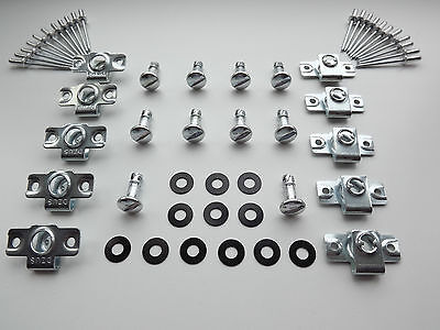 DZUS FAIRING & PANEL FASTENERS SLOTTED HEAD 15MM STUD LENGTH 10 PACK