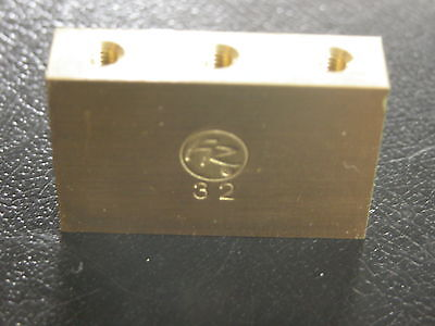 Real Floyd Rose Brand 32mm Brass Big Block - Made By Floyd Rose For Floyd Rose