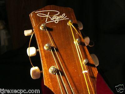 Regal T13 Acoustic 1970s Vintage Guitar & Case