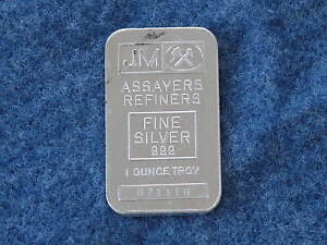 Johnson-Matthey-Rectangle-Silver-Bar-1-troy-ounce-999-fine-Serial-071110-B7475