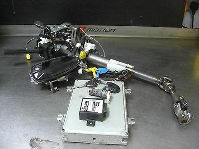Integra Type R DC2 UKDM Lock Key steering column ECU set   all locks JDM handles