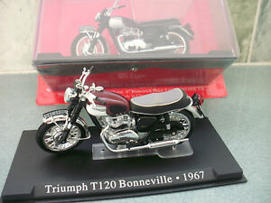 Triumph bonneville T120 motorcycle model 1967 new in box
